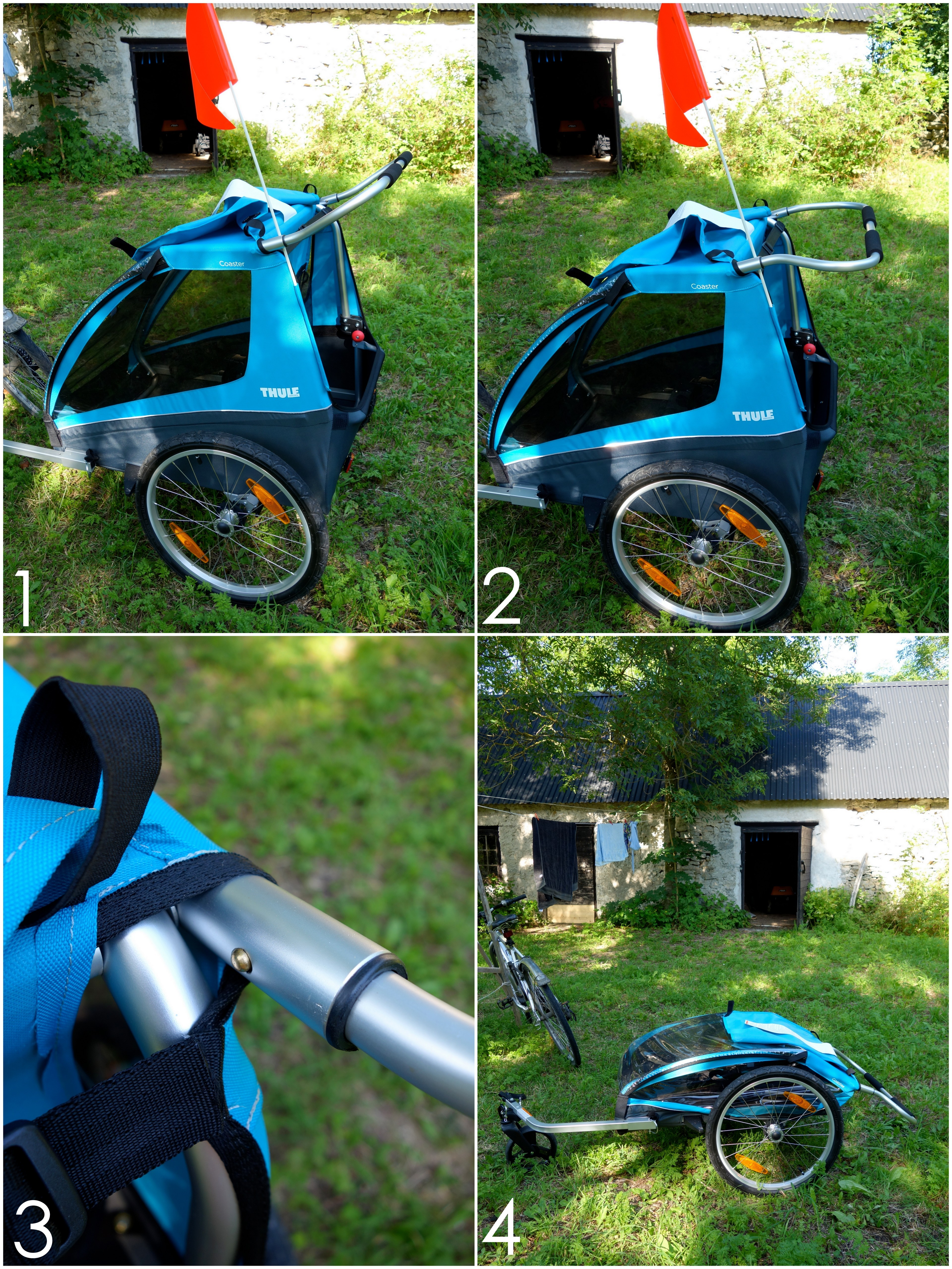 thule cykelvagn återförsäljare