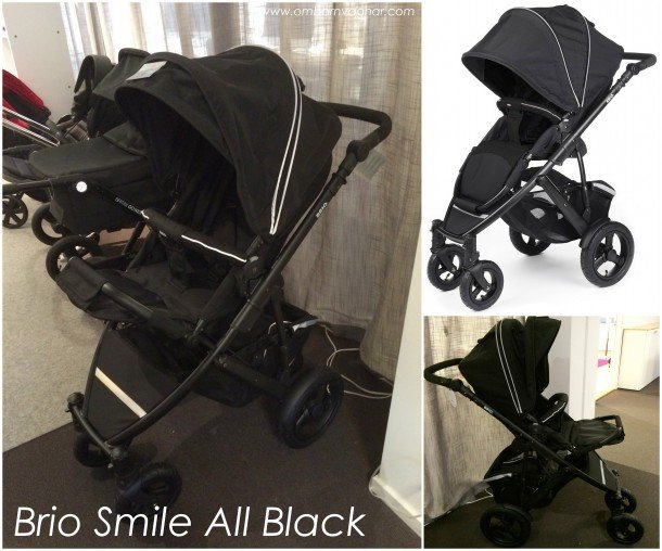 Brio Smile All Black