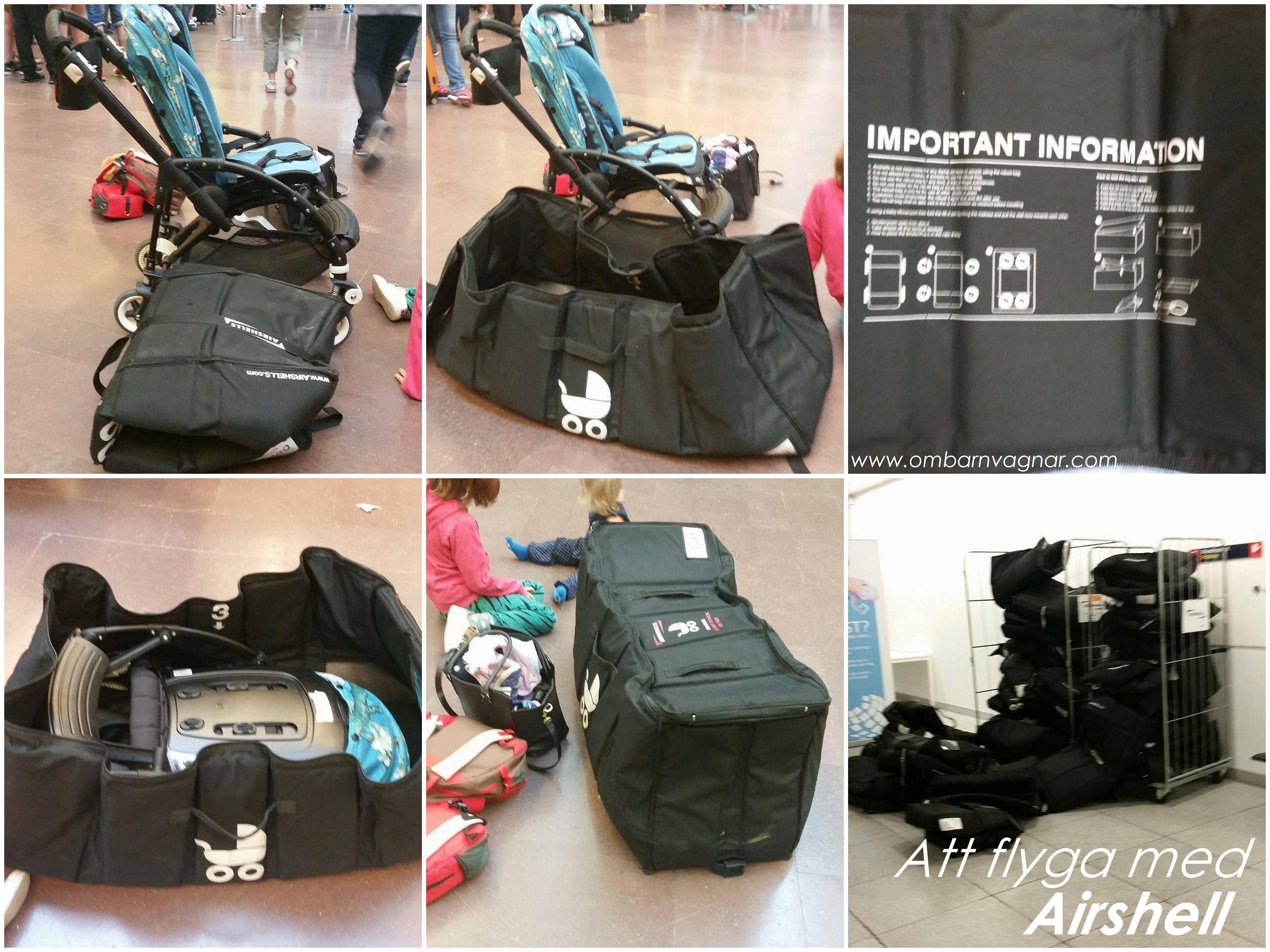 Airshells flyga med barnvagn Allt Om Barnvagnar