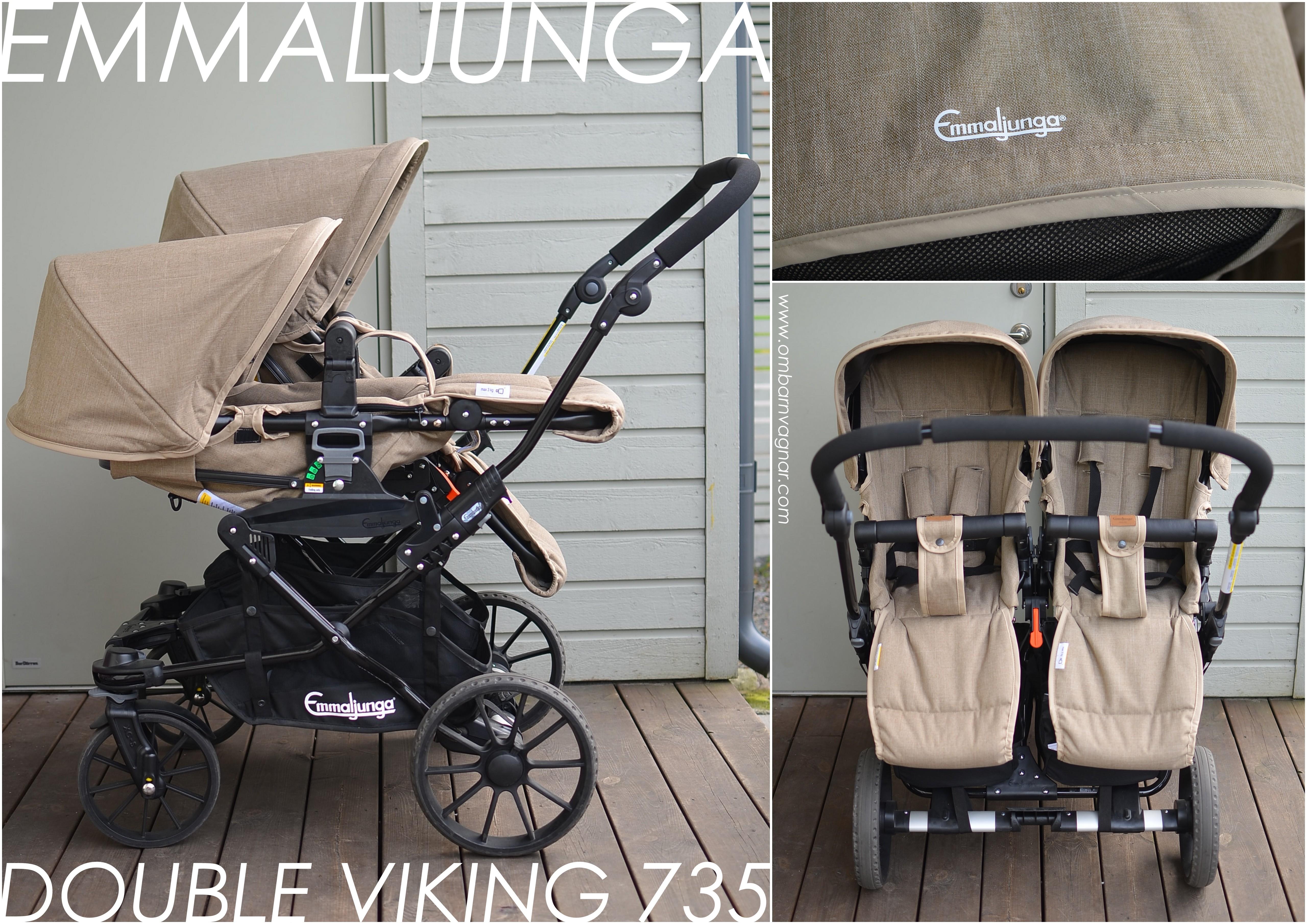 Emmaljunga Double Viking 735 Allt Om Barnvagnar