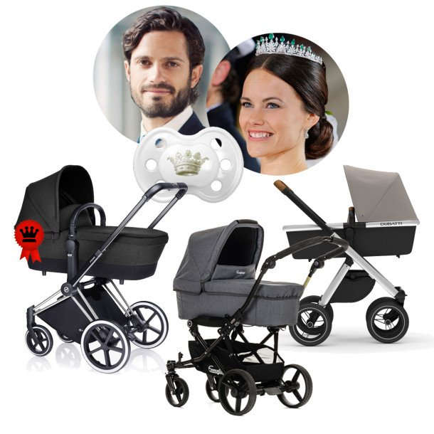 PrinsCarlPhilip-PrinsessanSofia-barnvagn