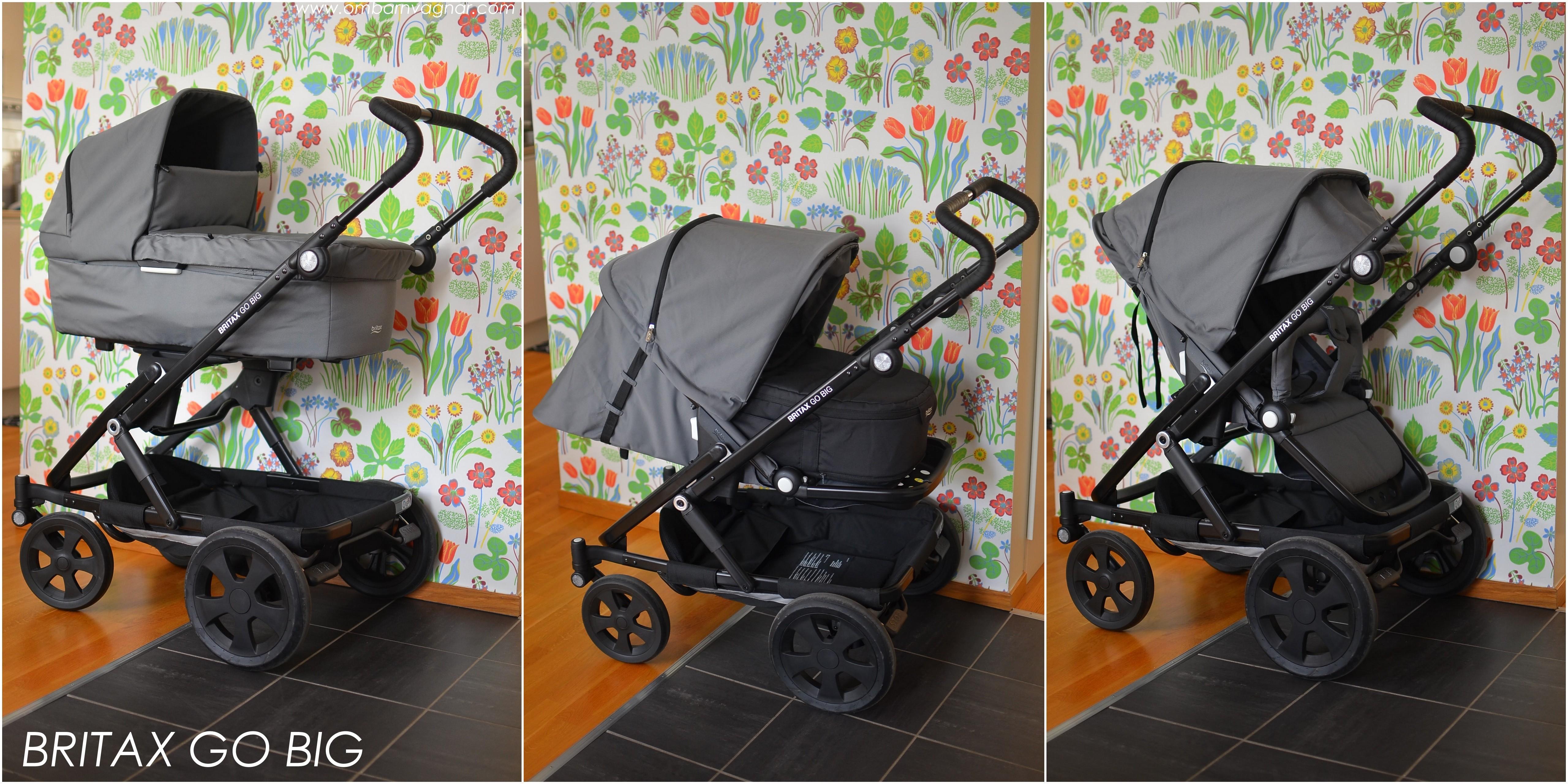 britax go big en f rsta titt allt om barnvagnar. Black Bedroom Furniture Sets. Home Design Ideas