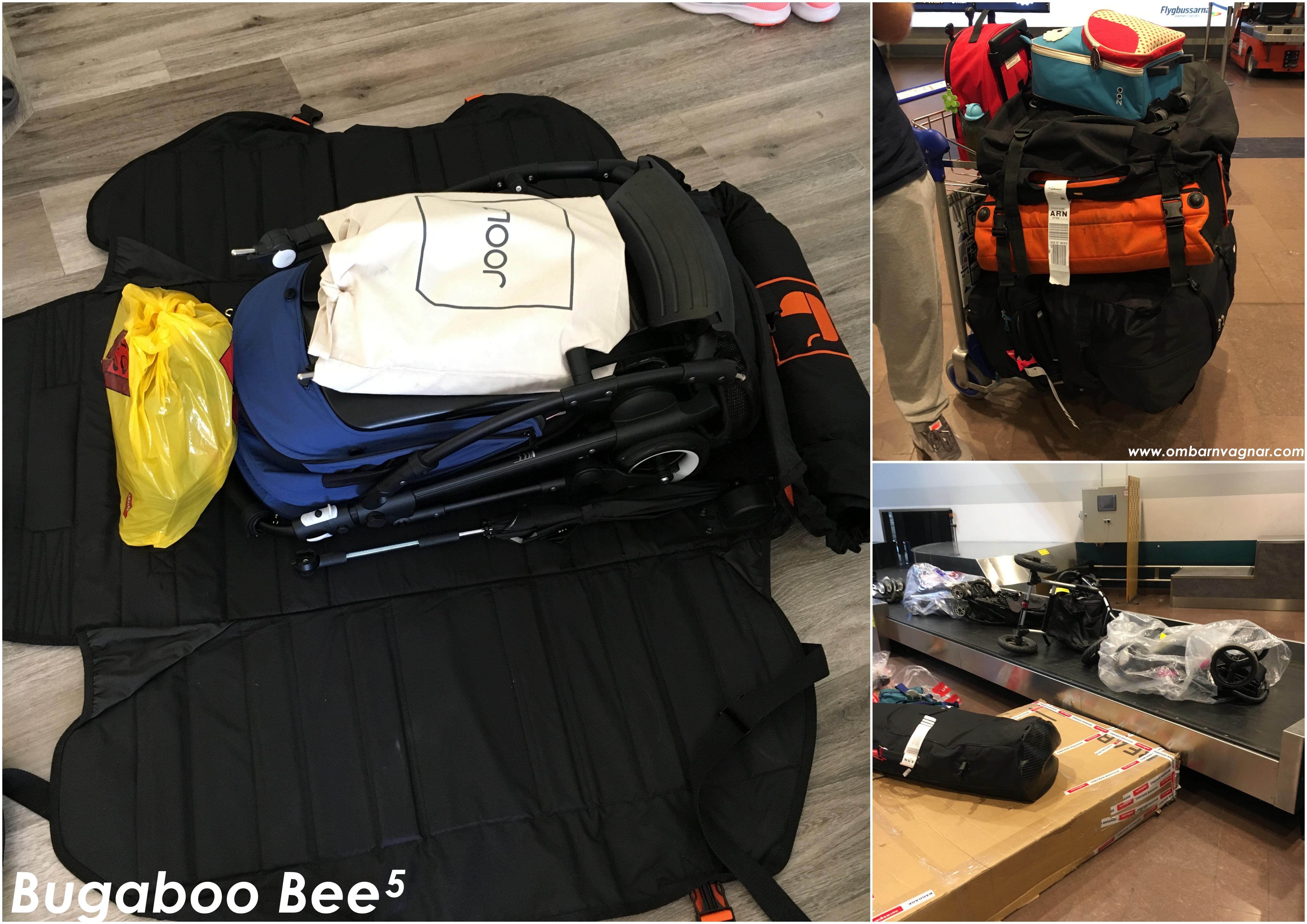 Resa med barnvagn att packa olika vagnar i Stokke PramPack