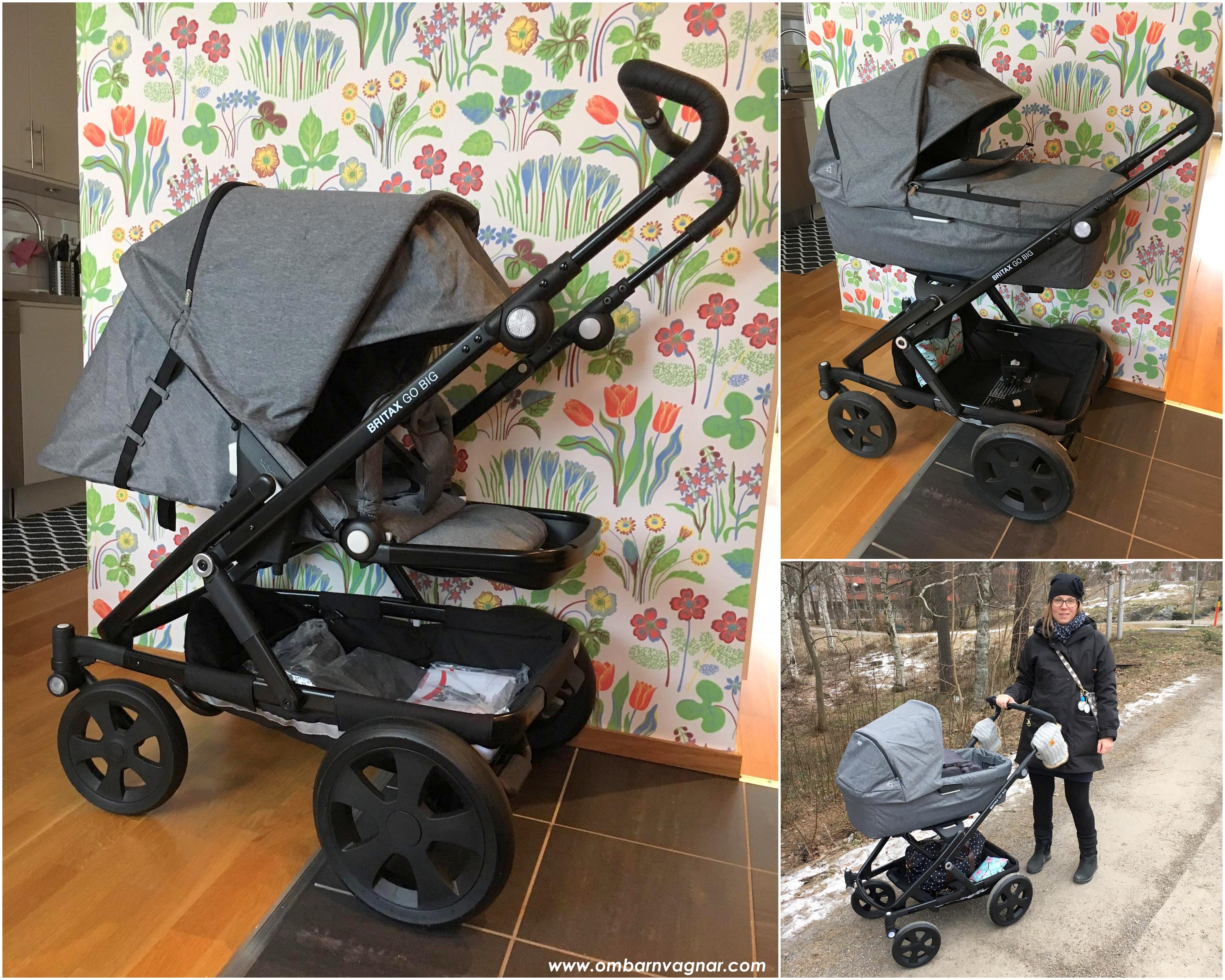 britax go big grey melange allt om barnvagnar. Black Bedroom Furniture Sets. Home Design Ideas