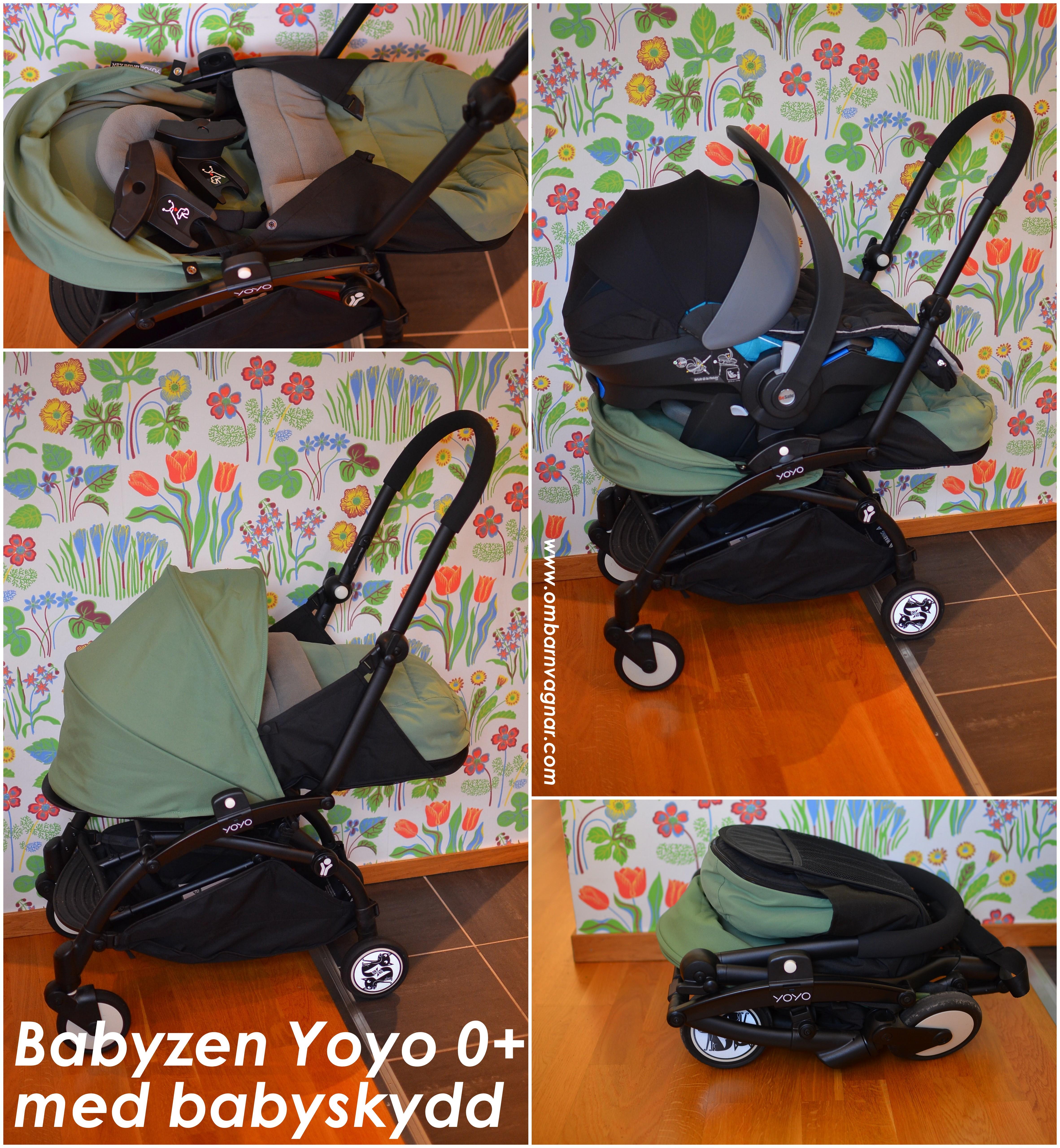 b65ba7f7a Babyzen Yoyo+ 0+ med liggdel och babyskydd - Allt Om Barnvagnar