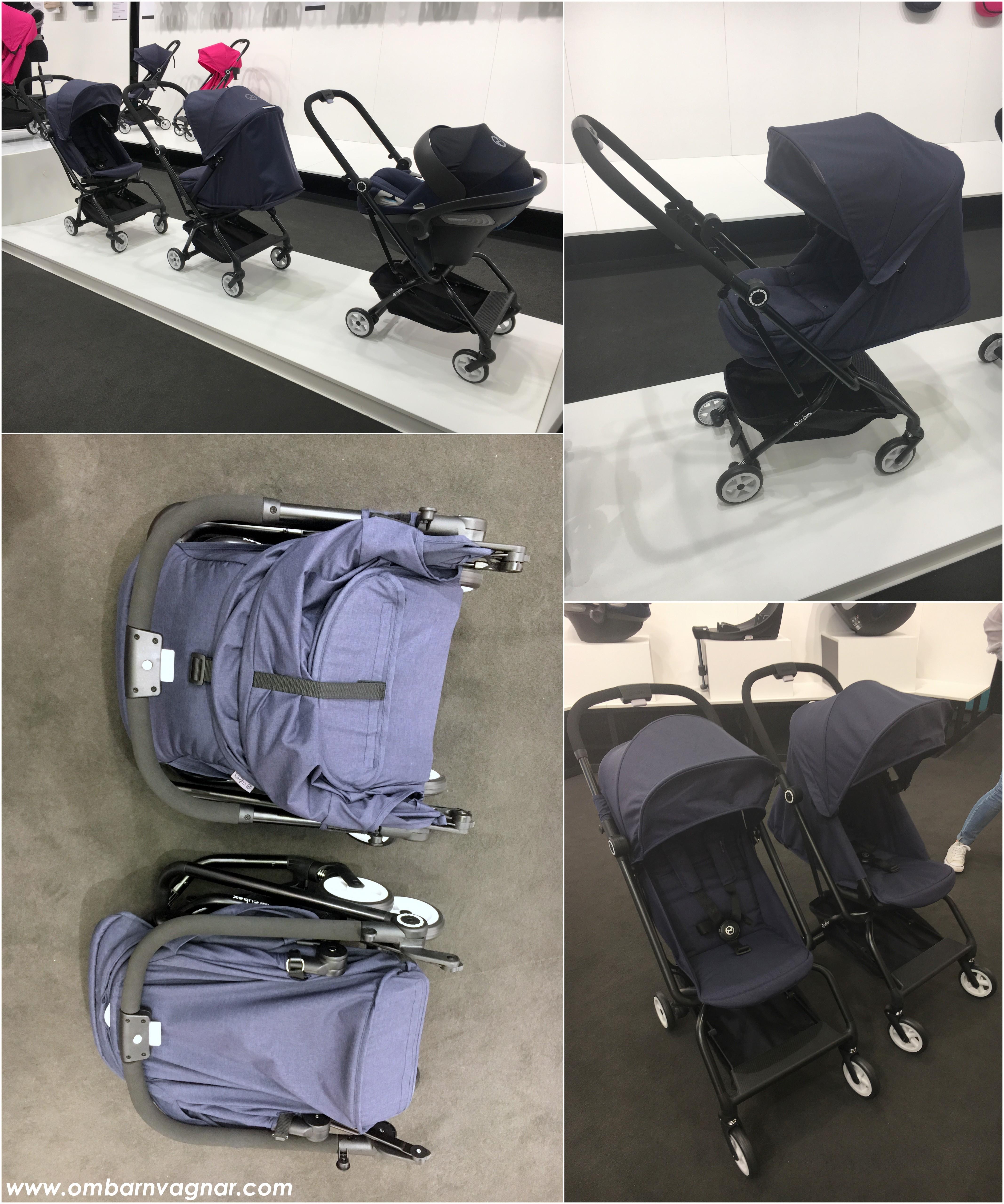 Ett annat märke som också har haft ett produktivt år var Cybex. Hela tre  nya barnvagnsmodeller ska de utöka sitt sortiment med och mest spännande är  i mina ... e2900e5eecd12
