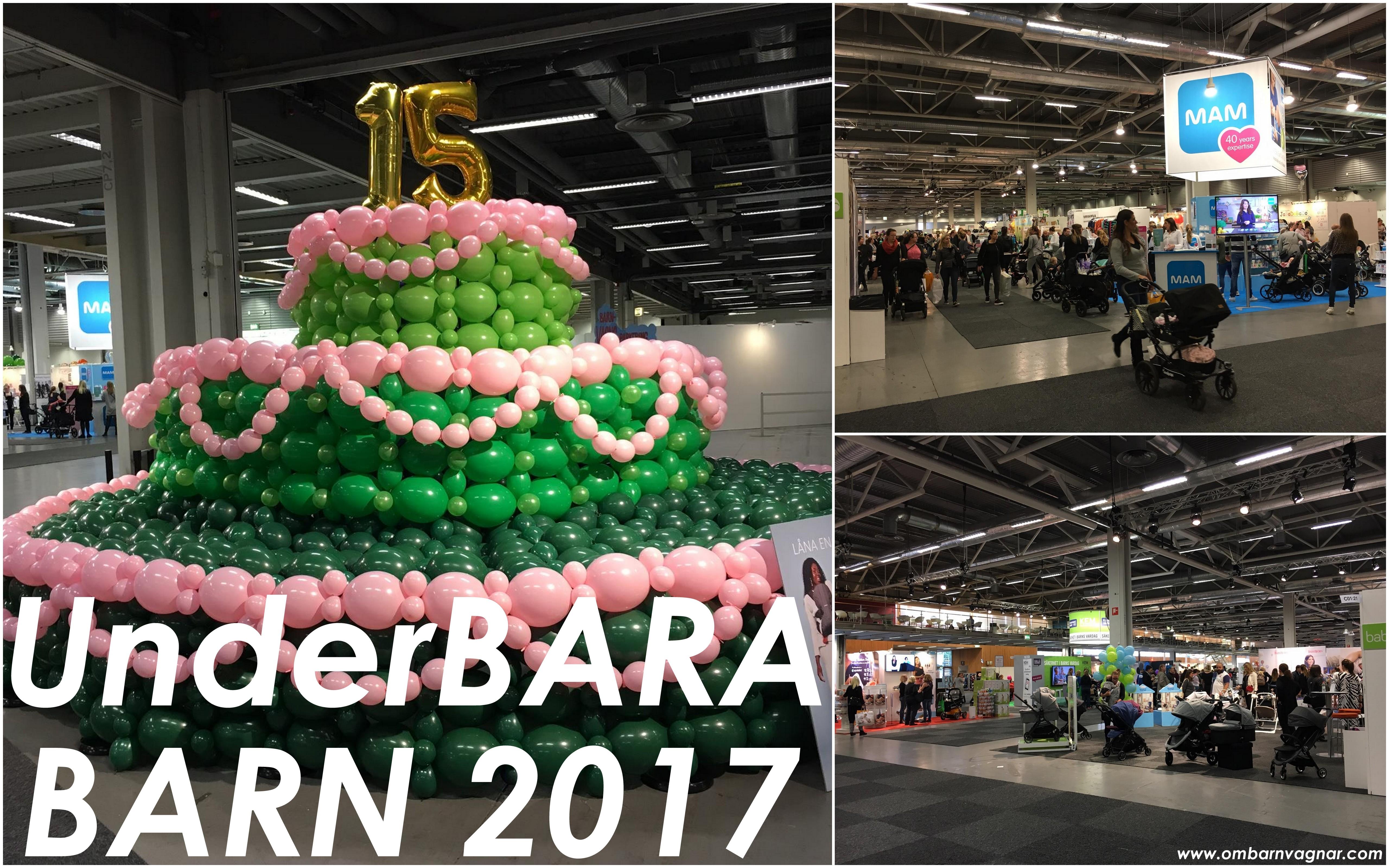 Denna helg är det åter dags för UnderBARA BARN och årets mässa är faktiskt  den femtonde i raden! Ganska imponerande i en bransch där det går upp och  ner i ... c743a6a543eae