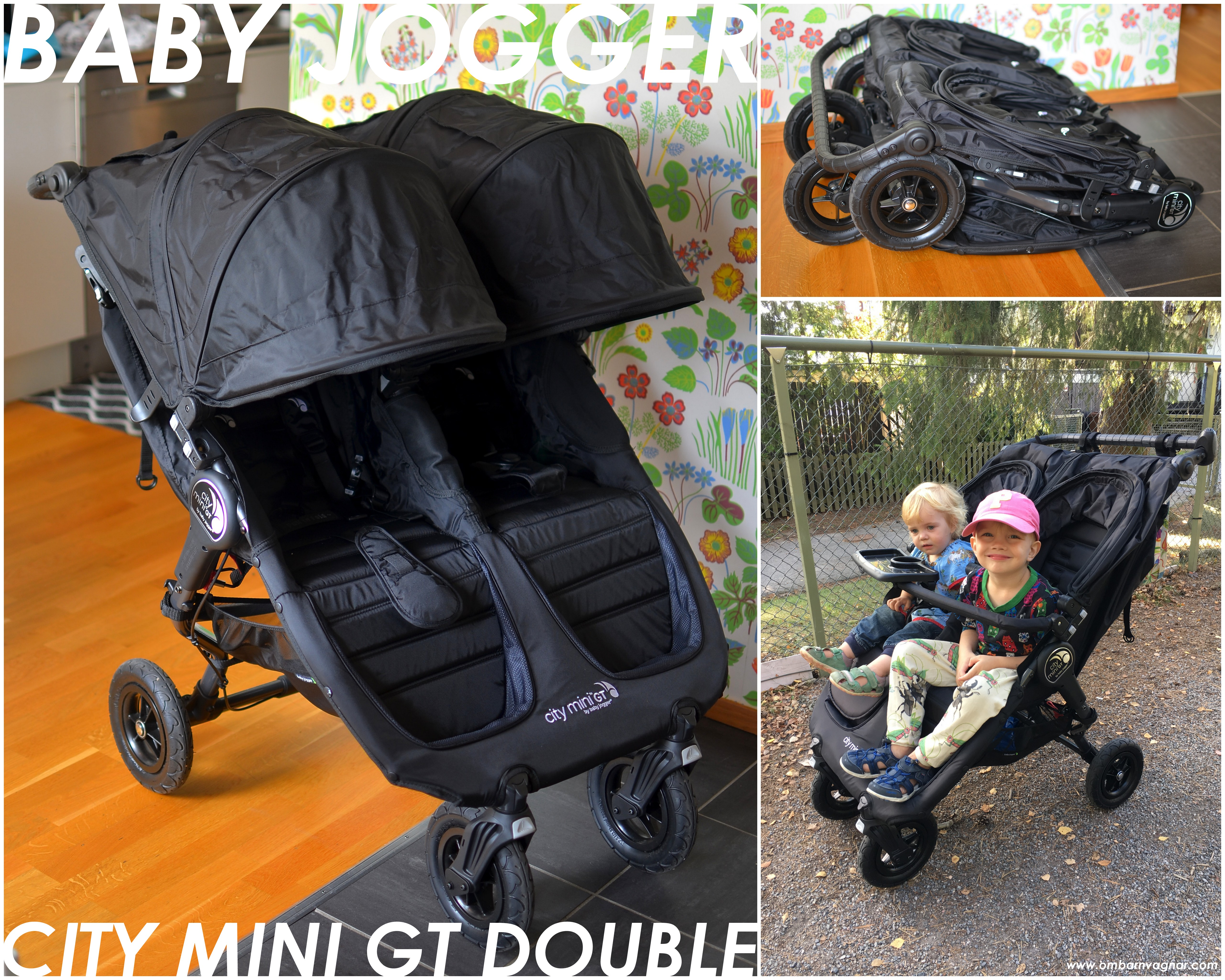 baby jogger tvillingvagn