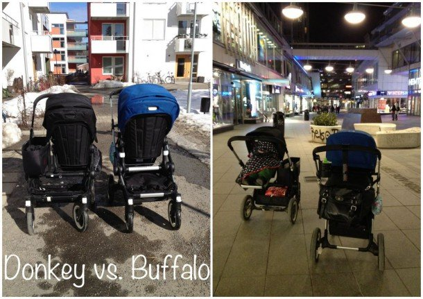 Skillnaden mellan Bugaboo Donkey och Bugaboo Buffalo