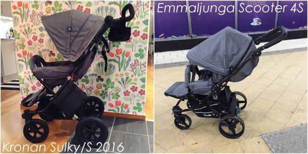 Emmaljunga-Scooter-Kronan-Sulky-S